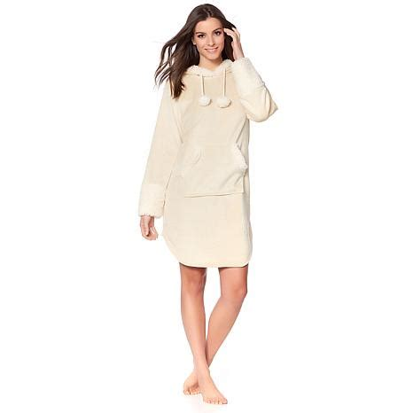 Price Kimono Handuk Kangoroo soft cozy hooded comfort tunic robe with kangaroo pocket