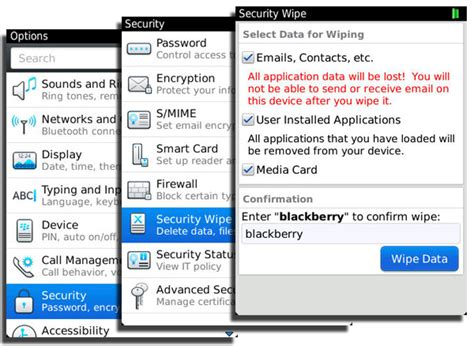 reset blackberry erase all information tabula rasa how to wipe the data from your blackberry