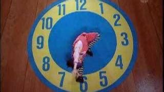 Big Comfy Clock Rug by Big Comfy Academy The Two Timing Tap