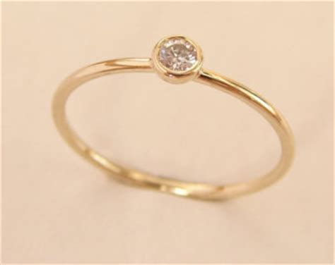simple gold engagement rings wedding promise