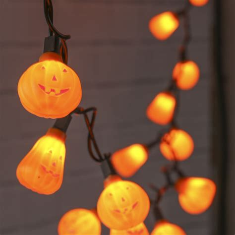 Halloween Jack O Lantern String Lights Fall And Lantern String Light