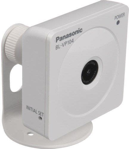 Vga P104 panasonic bl vp104 network line up 720p hd images up to 30 fps 1 0 megapixel high