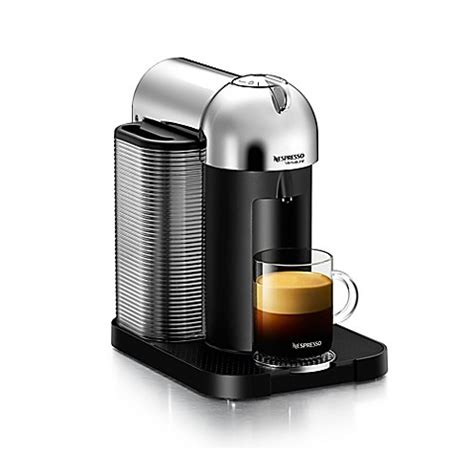 nespresso bed bath beyond nespresso 174 vertuoline coffee and espresso machine bed