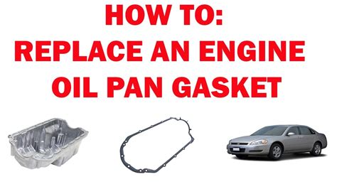 how to remove a oil pan on a engine oil pan gasket replacement impala 2006 2016 doovi