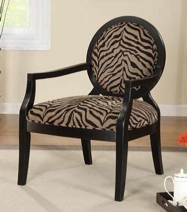 tiger chair tiger print accent chair the home