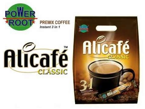 Alicafe Classic 3in1 alicafe classic instant 3in1 hanyaw malaysia export to