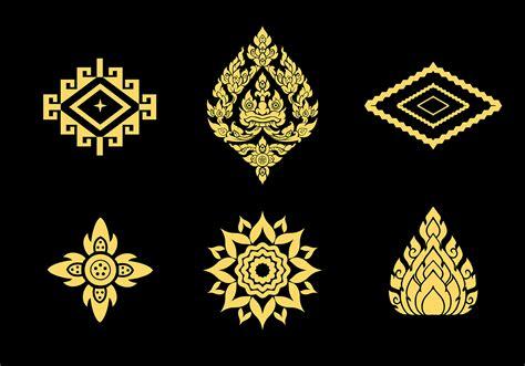 thai design thai pattern vector download free vector art stock
