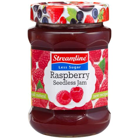 Jamz Jamz our products streamline foods less sugar jams and