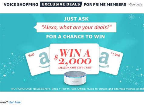 Amazon Alexa Giveaway - amazon alexa voice shopping giveaway sweepstakes