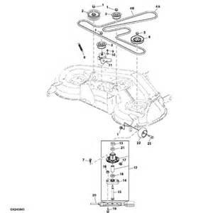 L Parts Deere L120 L130 Deck Parts