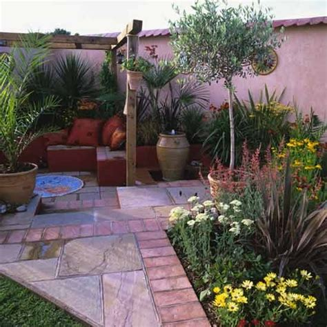 Small Mediterranean Garden Ideas Mediterranean Style Courtyard Housetohome Co Uk