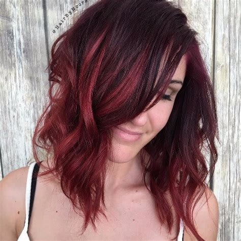hairstyles red highlights 60 shades of red hair that look great on everyone