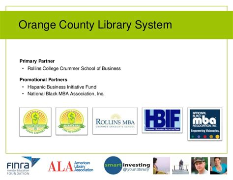 Mba Programs In Orange County California by Smart Investing Your Library Program Models That Work