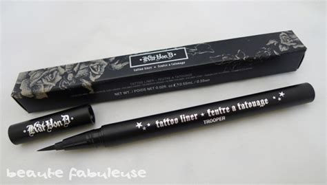 tattoo liner kat von d amazon kat von d tattoo liner beaute fabuleuse