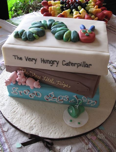 Book Baby Shower Cake by S Quot Children Book Quot Themed Baby Shower Cake