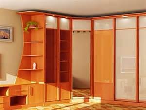 Wooden wall almirah designs bedroom