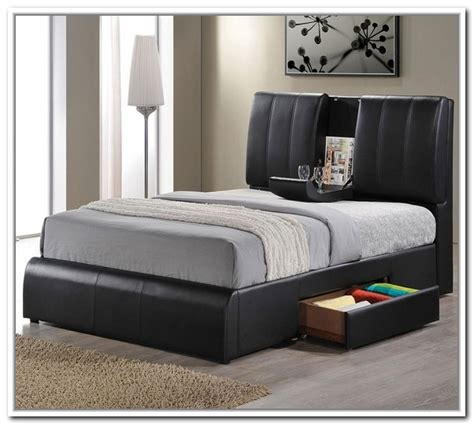 Bed Frames With Storage Space Storage Bed Frames Home Design Ideas