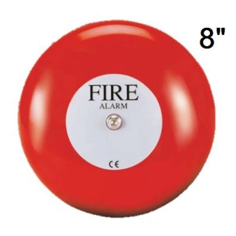 Alarm Bell 24vdc vimpex weatherproof 8 inch alarm bell 18ma 24vdc mba 8 bbx4