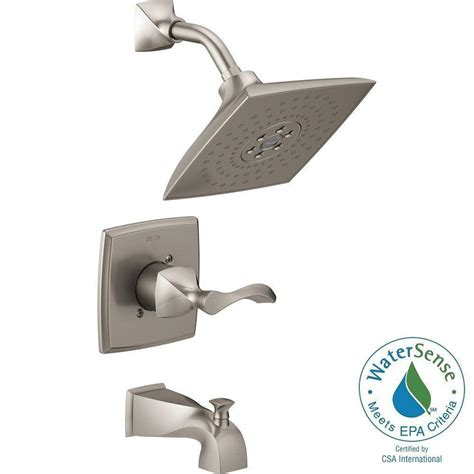 Delta Shower Faucets With Sprays by Glacier Bay Estates Watersense 1 Handle Tub And Shower
