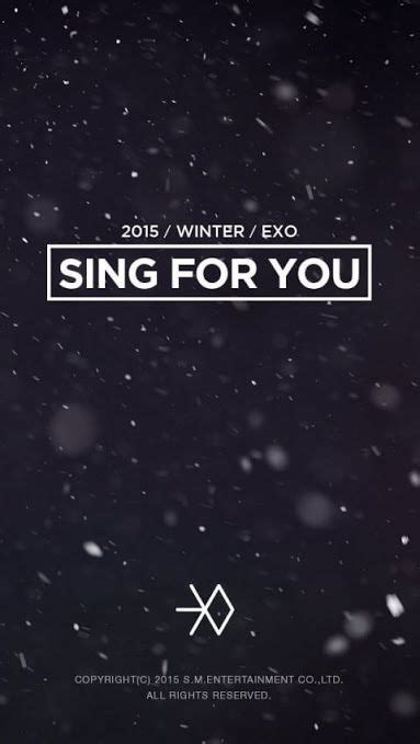 wallpaper exo sing for you 111 best images about kpop wallpapers on pinterest kpop