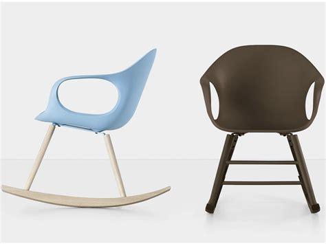 elephant rocking polyurethane chair by kristalia design