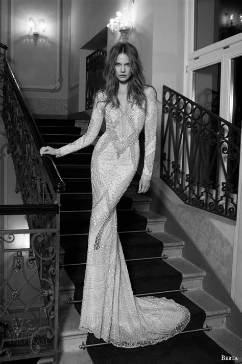 Berta Bridal Fall 2015 Wedding Dresses   Wedding Inspirasi