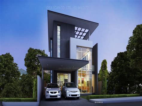 Home Design 1 1 2 Story | 1 1 2 story house modern two story house plans modern 2 storey house design mexzhouse com