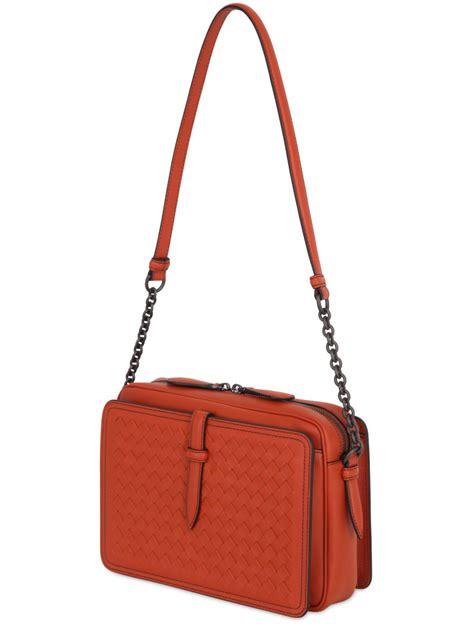 Botega Venetta Bag lyst bottega veneta intrecciato nappa leather shoulder