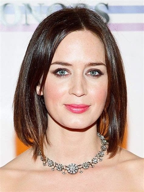 picture of long graduted blunt cut 69 best images about long bobs on pinterest emily blunt
