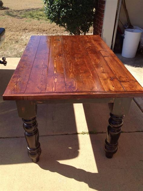 large farmhouse table legs dining table legs image of double pedestal dining table