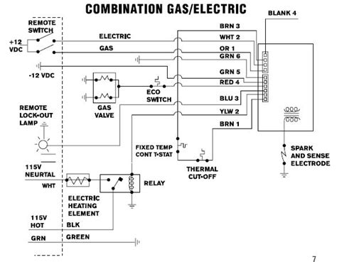 atwood water heater wiring diagram wiring diagram and