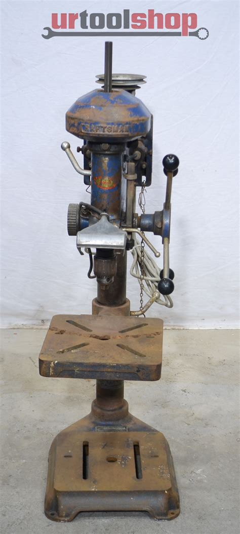 craftsman bench drill press vintage craftsman bench drill press model 101 03622 9414 2