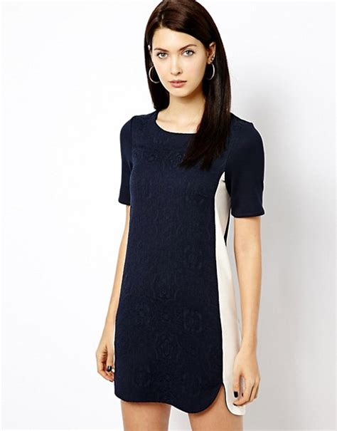 Rodnik Ludovico Jacquard Dress A Shirt Dress With A Difference by Warehouse Warehouse Jacquard Front T Shirt Dress