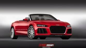 Sports Audi Audi Sport Quattro Laserlight Concept Cabriolet Imagined