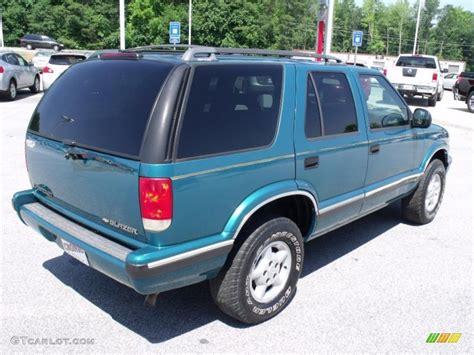 Teal Ls by 1995 Bright Teal Metallic Chevrolet Blazer Ls 4x4