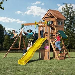 best rated wooden swing sets the best backyard swing sets for kids 2018 family living