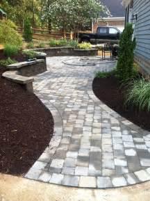 walkway designs and patio designs paver patio walkway