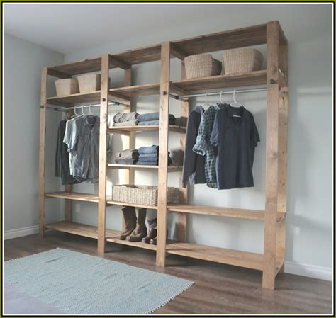 How To Build Wooden Shelving Units build closet shelves mdf home design ideas