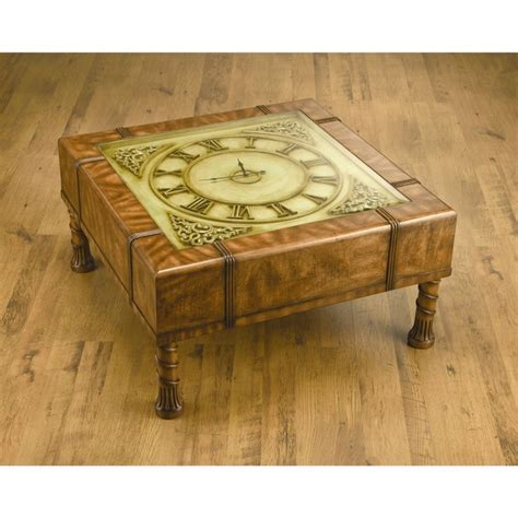 Clock Coffee Table 1000 Images About Coffee Table Clock On Pinterest Clock Table Coffee And Tables