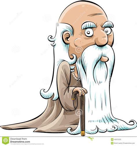 clipart uomo uomo anziano saggio illustrazione di stock immagine