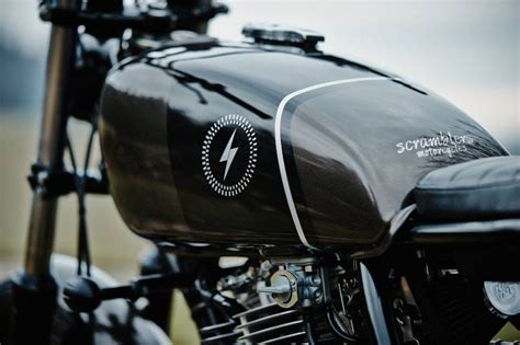 Motorrad ölfilter by Custom Yamaha Sr500 By Scramblers Motorcycles Custom