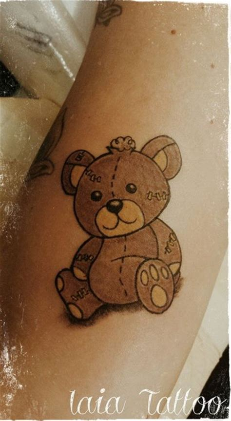 tatty tattoos best 25 teddy tattoos ideas on teddy