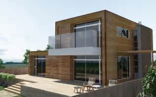 modern wooden house by badnugly on deviantart