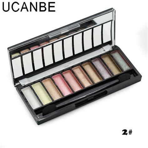 10 colors glitter eyeshadow palette fashion makeup brand colorful cosmetics