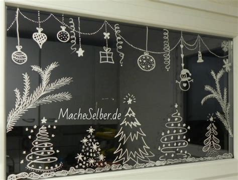 Weihnachtsdeko Filz Fenster by Weihnachtsdeko F 252 R Fenster Mache Selber