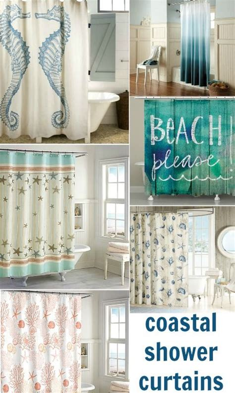 Coastal Design Shower Curtains 151 Best Coastal Bathrooms Images On Coastal Bathrooms House Decor And