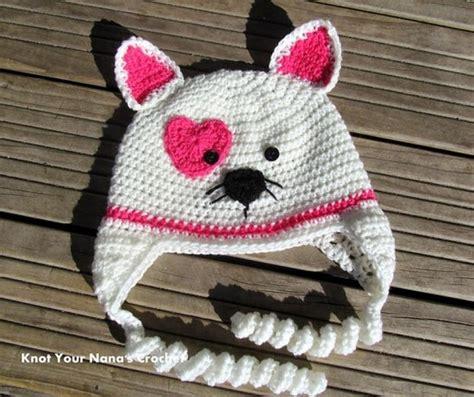 cat hat crochet pattern valentines crochet patterns free beesdiy com