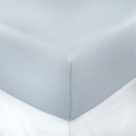 buy lifenest breathable fitted sheet in blue from bed buy 400 thread count solid 18 inch deep pocket full fitted