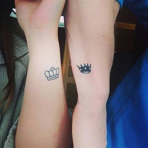 king and queen wrist tattoo 40 king and tattoos for that kick