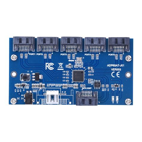 sata port multiplier card adaptateur carte sata 1 224 5 port converter sata port
